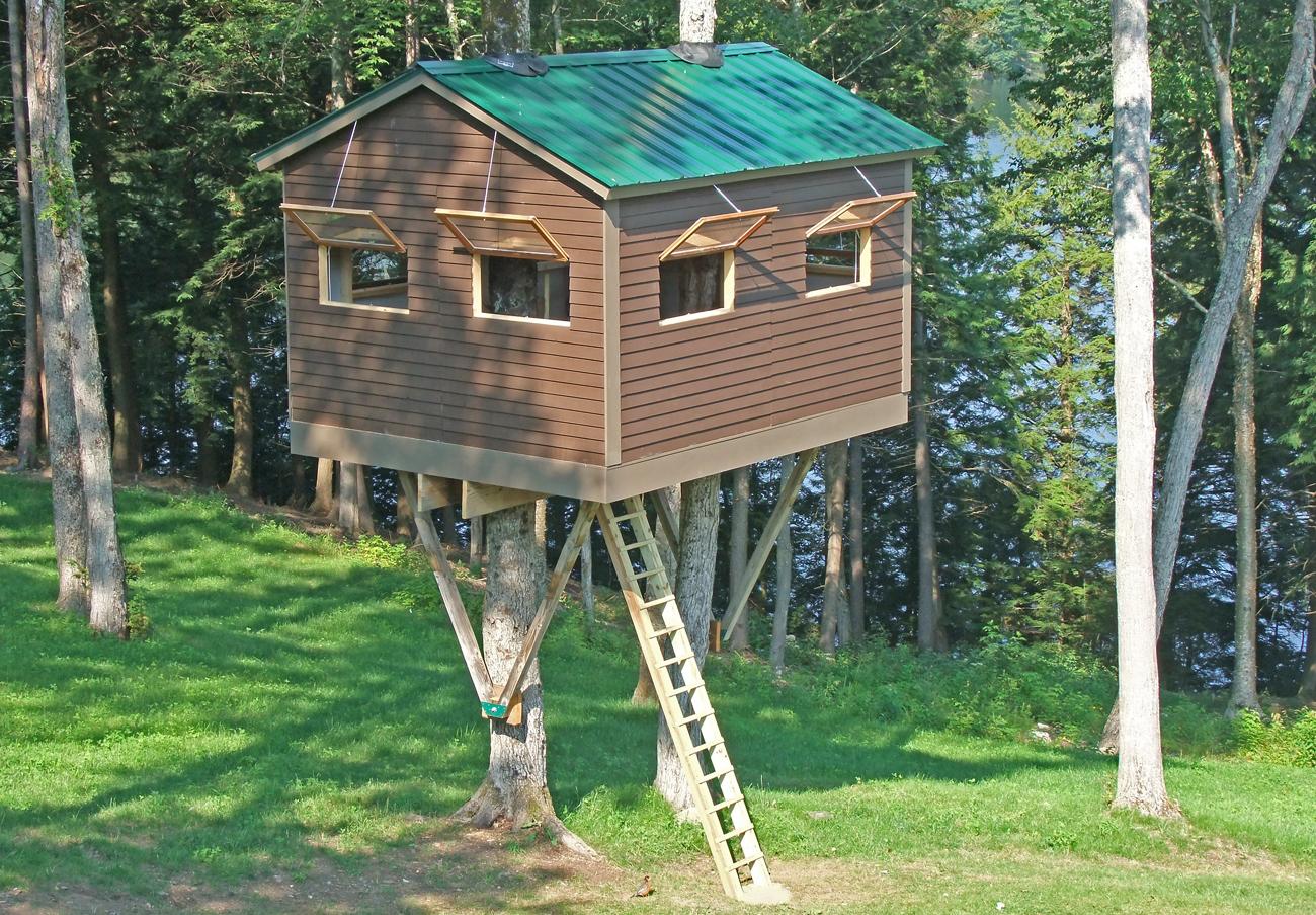 Free Tree House Plans