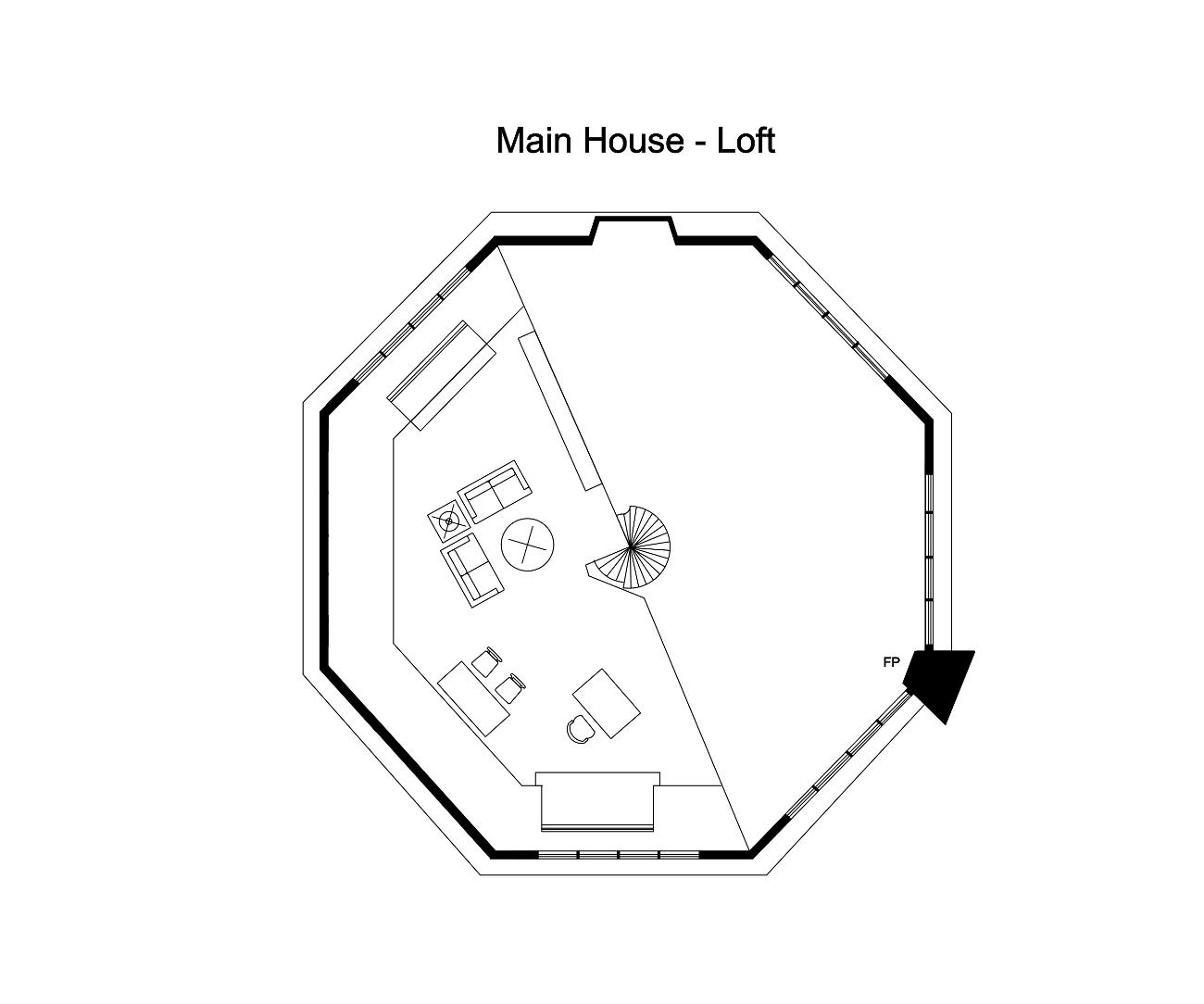 Main house loft